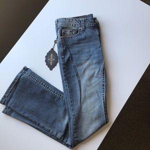 Paisley Sky Bootcut Denim Jeans